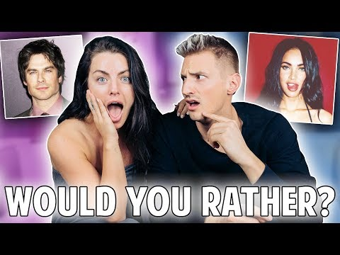 WOULD YOU RATHER CHALLENGE*Awkward* w Mark Dohner