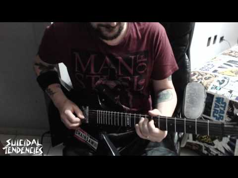 Suicidal Tendencies-  Monopoly on Sorrow - Guitar Solo Cover - (Version)