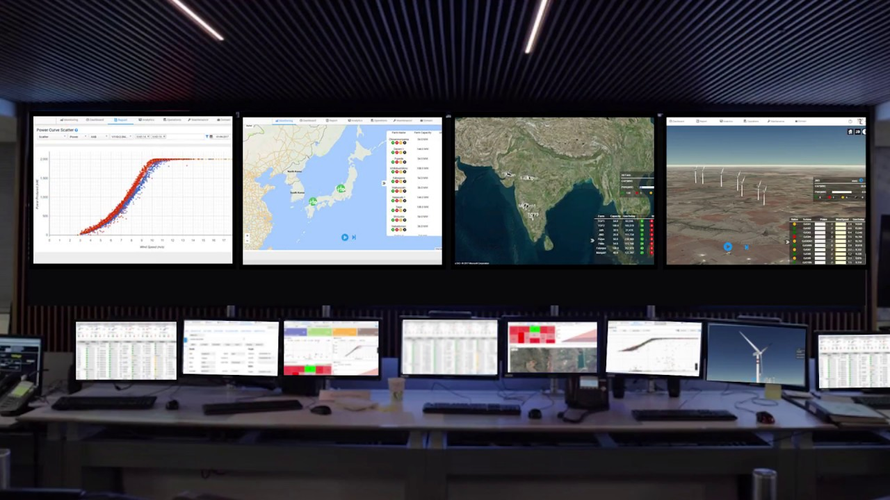 Algo Engines : Wind Farm Monitoring & Analytics