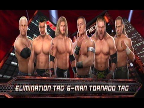Wwe svr 2008 team rated rko vs team dx elimination match - Wwe rated rko wallpaper ...
