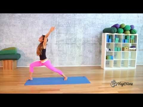 Gentle Flow Yoga of Sun Salutes, Standing Poses and Deep Stretches with Yogi Nora