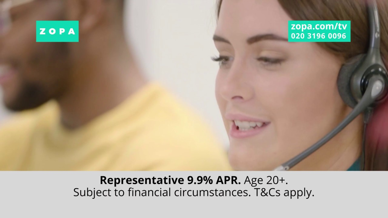 The Benefits Of A Zopa Loan Zopa S Winter 2017 Tv Ad Youtube
