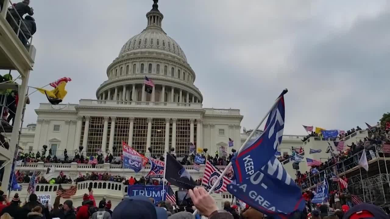 Capitol shooting victim husband - YouTube