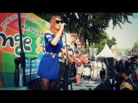 Johnny 5 is alive / 151018 / itaewon global village festival