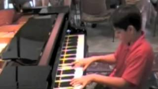 Fardad, age 12 Haydn Piano Concerto in D Major, 1st Mvt Hob. XVIII:11