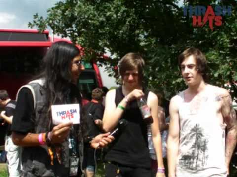 Thrash Hits TV: The Ocean Between Us @ Sonisphere Festival 2011