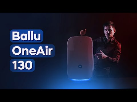 Ballu OneAir ASP 130. Дизайнерский бризер. Приточный очиститель воздуха.