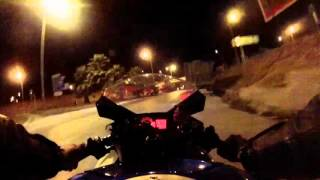 Suzuki gsxr 600 k9 PORTUGAL (night)