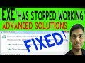 "How to Fix "" Has stopped working"" in windows 7/8/10 