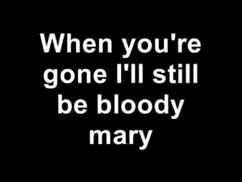 Lady Gaga - Bloody Mary (with lyrics)