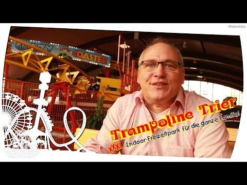 Trampoline Trier - XXXL Indoor Freizeitpark für die ganze Familie - Ride Review Reportage