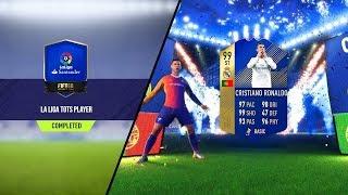 FIFA 18 WE PACKED 99 RONALDO!!!! *NEW* GUARANTEE LA LIGA TOTS PLAYER SBC