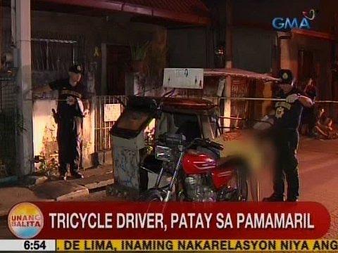 UB: Tricycle driver, patay sa pamamaril sa Mandaluyong
