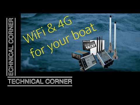 Wifi & 4G connection on your boat