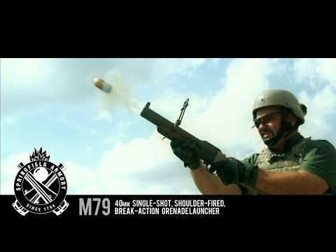The M79 Thumper - Grenade Launcher