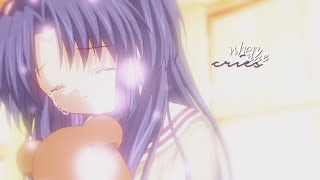 [amv] when she cries.