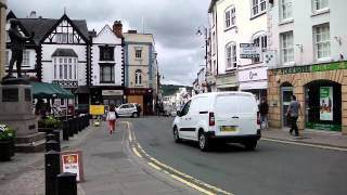 Town Centre, Monmouth, Wales