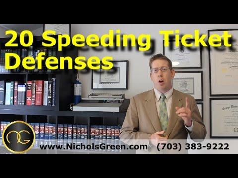 How To Beat A Speeding Ticket >> 20 Speeding Ticket Defenses Traffic Attorney Explains How To Beat A Speeding Ticket