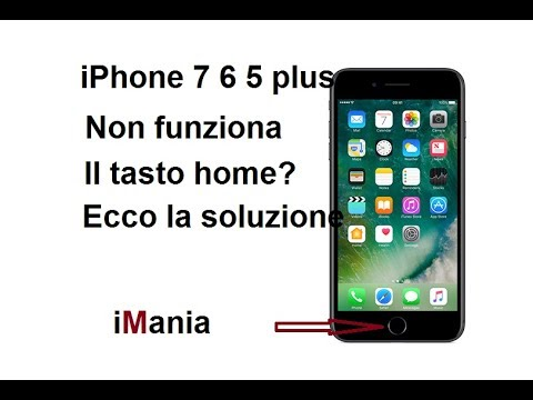 Cambio batteria ad un iphone 5 tasti home e power non funzionano, come mai?