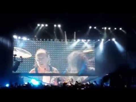 Metallica - Enter Sandman (En vivo en Asunción) [Multicam con Audio Profesional]