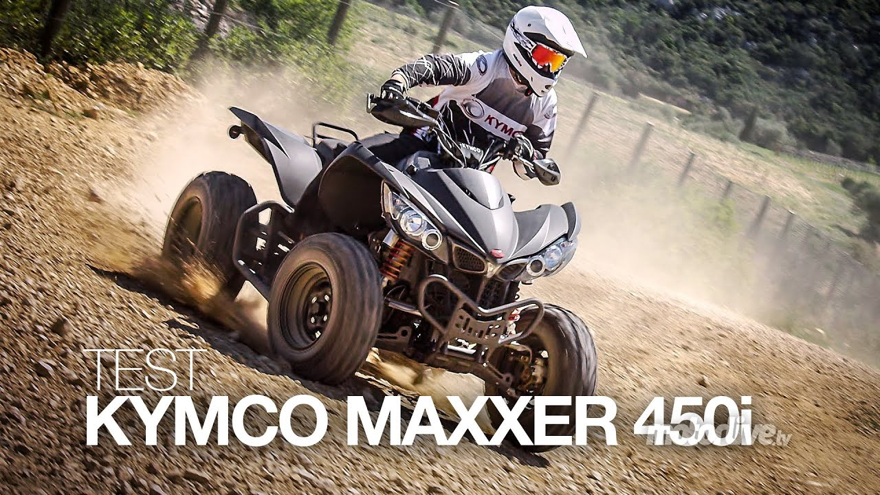 test kymco maxxer 450i se tout en muscle youtube. Black Bedroom Furniture Sets. Home Design Ideas