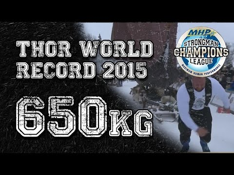 Hafthór Björnsson THOR WORLD RECORD LOG 2015 OFFICIAL VIDEO