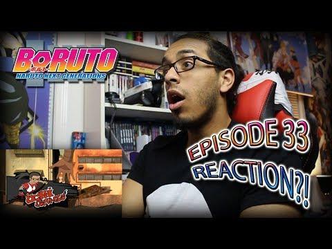 "BORUTO EP. 33 REACTION + Predictions!!   ""スランプ!! 超獣偽画(ちょうじゅうぎが)"""