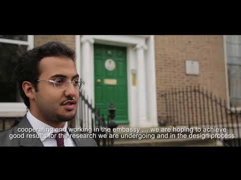 مجمع السفارة السعودية دبلن ايرلندا - The Saudi Embassy Housing Complex Dublin Ireland
