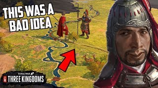 I Try To Beat Three Kingdoms Total War With Just My Starting Army (No Recruitment Challenge)