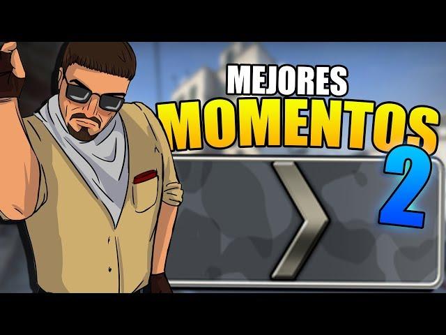 2 LOCOS JUGANDO CS:GO | MEJORES MOMENTOS #2 w/Zhander