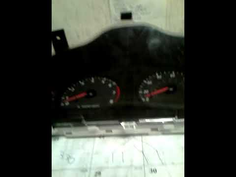 Instrument Cluster And Light Bulbs Removal