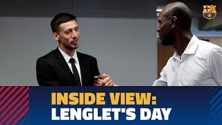 [BEHIND THE SCENES] 12 hours with Lenglet