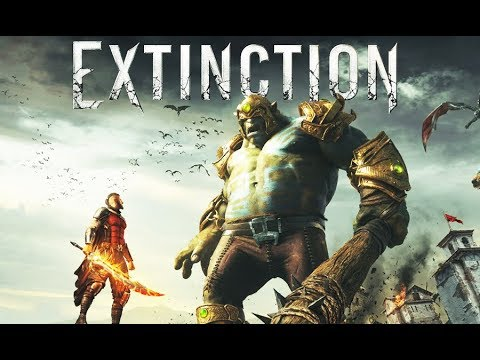 EXTINCTION All Cutscenes (Game Movie) 1080p HD