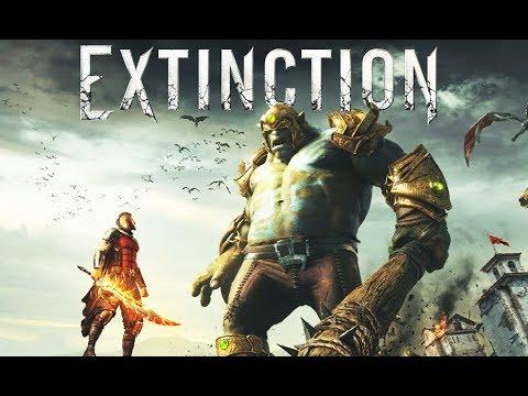 EXTINCTION All Cutscenes (Game Movie) 1080p HD