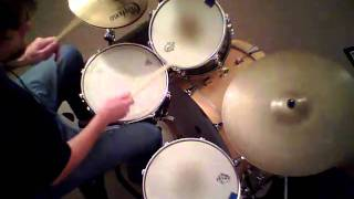 "Jon Biggs Pork Pie Drums "" Shattered "" - drum cover"