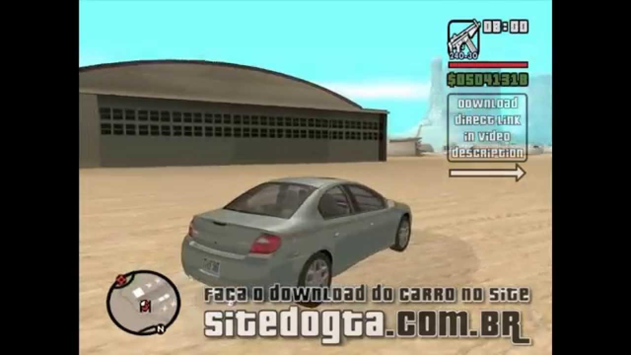 Carro Dodge Neon 2006 Gta San Andreas Youtube