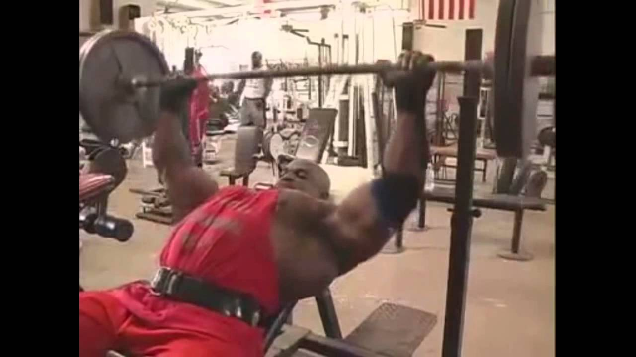 ronnie coleman chest workout youtube
