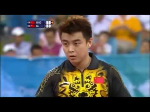 Table Tennis - Wang Hao vs. Ma Lin - Finals - Olympics 2008
