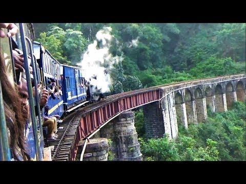 Ooty Toy train Journey from Mettupalayam to Ooty -UNESCO Heritage site-