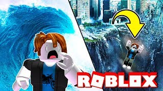 SURVIVING RIDICULOUS NATURAL DISASTERS! Roblox Adventures And Funny Moments
