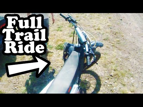 Dirt Bike Full Trail Ride - GIO x31 250cc