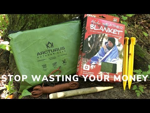 Destructive Testing The Arcturus Heavy Duty Survival Blanket - Why I Switched