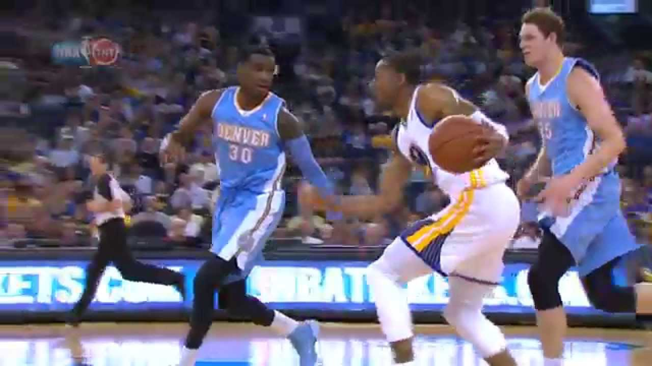 Andre Iguodala: Crossover of the Year!?!? - YouTube