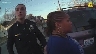 Woman sues LMPD over alleged groping during traffic stop