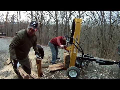 WOODS HLS27 Gas Log Splitter with 4 Way Blade
