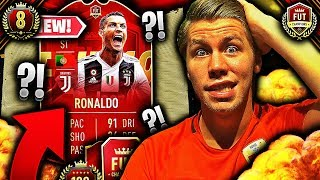 FUT CHAMPIONS med CRISTIANO RONALDO 🍿💥 **STREAM av WEEKEND LEAGUE GALSKAP**