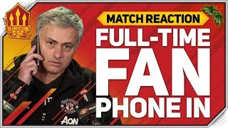 MOURINHO Blames Players! Manchester United 2-2 Arsenal Fan Reaction