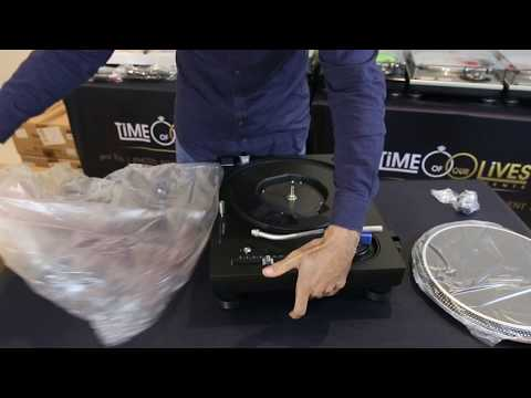 NEW Technics SL-1210GR Turntable - Unboxing & Review (2017) DJ Patty E Mp3