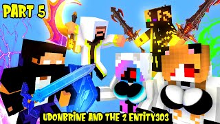 MONSTER SCHOOL SEASON 2: PART 5 UDONBRINE |  UDONBRINE AND THE 2 ENTITY303 - MINECRAFT ANIMATION thumbnail