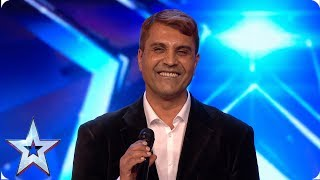 Wasim freestyles about wheelbarrows and a bidet | Auditions | BGMT 2019